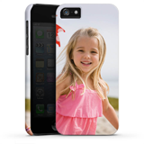 Mobile phone cover with edge print, glossy (iPhone 5/5s)
