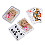 European photo playing cards
